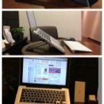 ノートパソコンスタンドで肩コリが楽になります