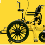 画期的!「ペダル付き足漕ぎ車イス」で麻痺した足が動く!